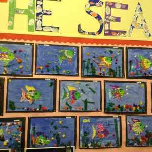 Primary 3 have been learning about life under the sea!